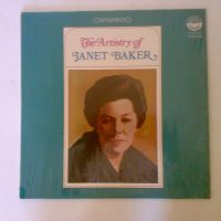 Janet  Baker  the artıstry of janet baker  lp