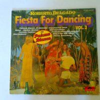 Roberto Delgado  fiesta for dancing vol.2   lp