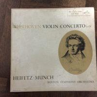 Heifetz Munch - Beethoven Violin Concerto in D