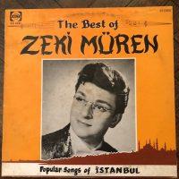 *stok sorunuz* Zeki Müren - The Best Of Zeki Müren (Songs Of İstanbul) Yunanistan Baskı Nadir LP