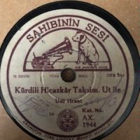 Udi Hrant - Kürdili Hicazkar Taksimi  / Hüseyni Taksimi
